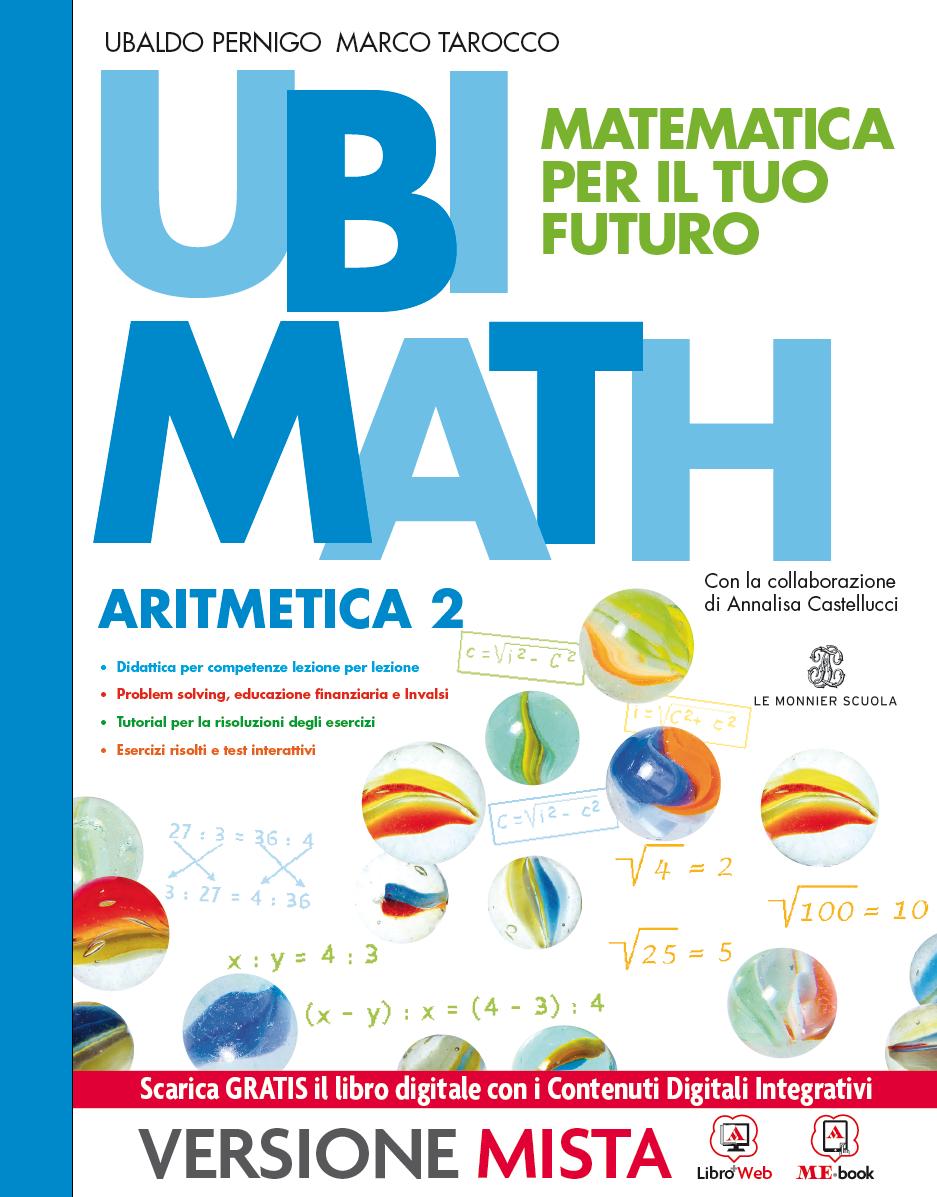 Ubi Math Matematica per il tuo futuro Aritmetica 2