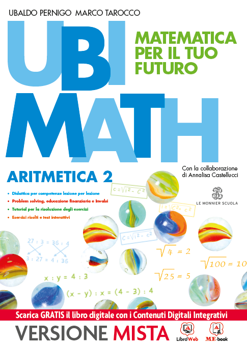 Ubi Math Matematica per il tuo futuro Aritmetica e Geometria 2